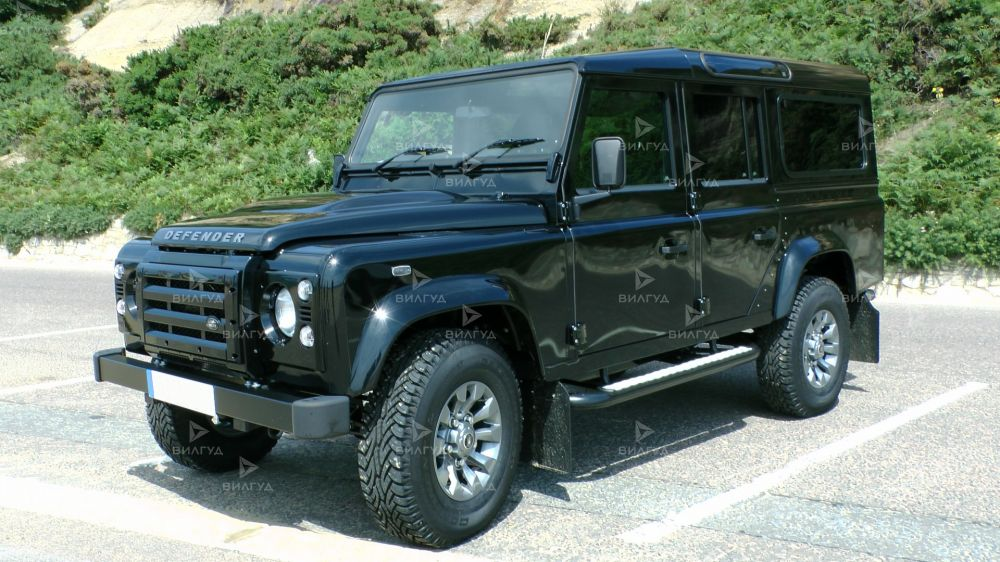 Диагностика ошибок сканером Land Rover Defender в Клину