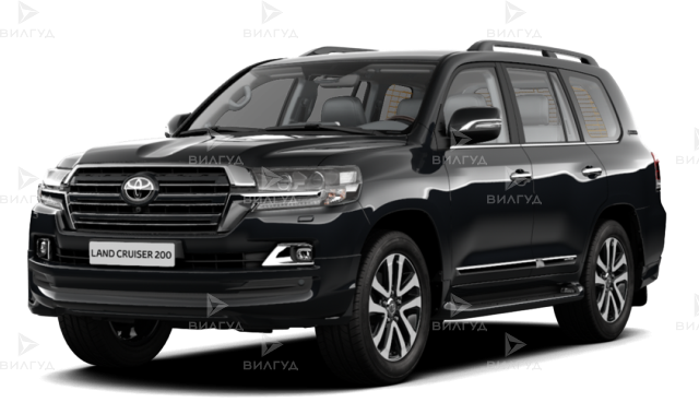 Замена ламп ближнего света Toyota Land Cruiser в Клину